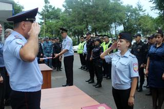 Молодые сотрудники полиции приняли Присягу в Уссурийске