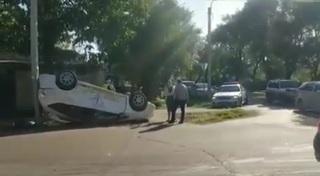 ДТП с переворотом в Уссурийске: в машине была десятилетняя девочка