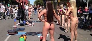 «Позорище»: Приморцы обсуждают девушек в бикини на Дне города в Уссурийске