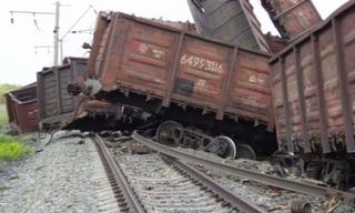 В Приморском крае поезд сошел с рельс