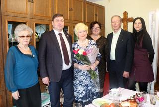 Почетный гражданин Уссурийска Людмила Бондарь отметила свой юбилей