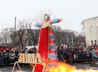 «Масленицу Широкую» отпраздновали в городе Уссурийске