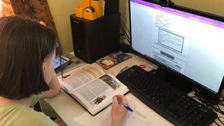 Уссурийские школьники перешли на дистанционное обучение