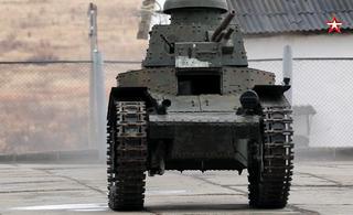 Танк, которому 100 лет, выйдет на Параде Победы в Уссурийске