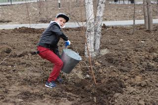 «Сад Памяти»: более 300 деревьев и кустарников посадили в Уссурийске в рамках Всероссийской акции