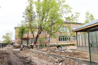В детском саду №38 города Уссурийска идет капитальный ремонт