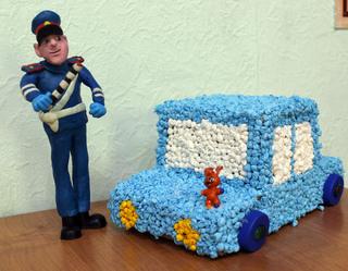 В Уссурийске полицейские и общественники провели конкурс детского творчества