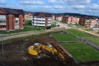 Строительство детского сада в «Радужном» проинспектировали общественные наблюдатели