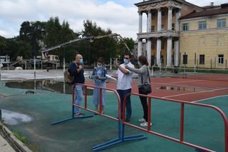 Общественные наблюдатели проверили строительство и ремонт спортивных объектов в Уссурийске