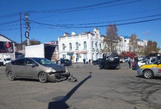 ДТП с кульбитом произошло в Уссурийске