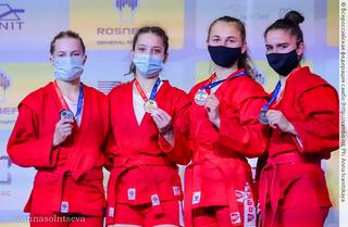 Самбистка из Уссурийска завоевала золото на чемпионате мира