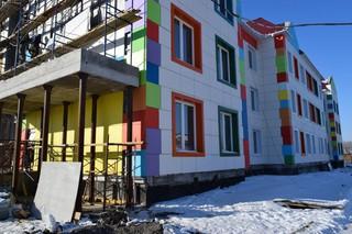 Детский сад в Радужном подключают к коммуникациям