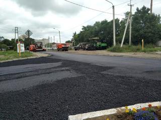 Больше 20 дорог было заасфальтировано в Уссурийске в уходящем году