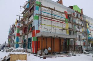 Здание детского сада в Радужном готово на 85 процентов