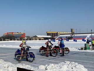 В Уссурийске состоялся Чемпионат Приморского края по мотогонкам