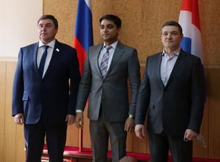 Генеральный консул Индии во Владивостоке посетил Уссурийск