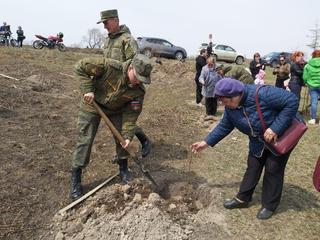Уссурийск присоединился к Международной акции «Сад памяти»