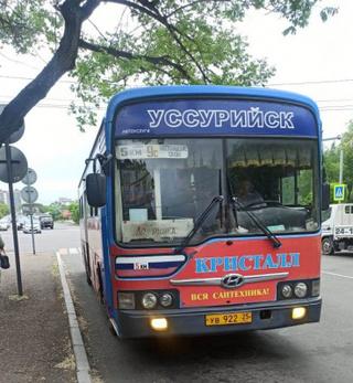 В Уссурийске проверили санитарное состояние пассажирских автобусов