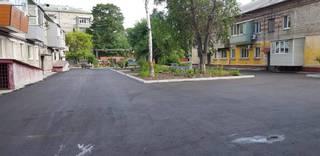 Девять придомовых территорий преобразились в микрорайоне «Южном»