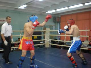 Новогодний турнир по кикбоксингу прошел во Владивостоке