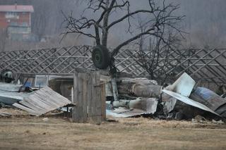 Су-27 упал в Приморье рядом с жилыми домами