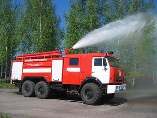 Пожарные потушили возгорание на автовокзале Уссурийска