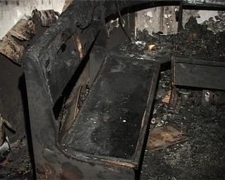 Пожар в малосемейке: жильцы верхних этажей собирались прыгать из окон
