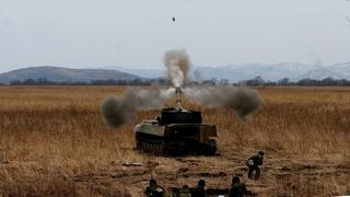Учения артиллеристов ТОФ прошли в Приморье