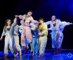 В театре драмы имени В. Комиссаржевской прошёл благотворительный концерт шоу-балета А.R.T