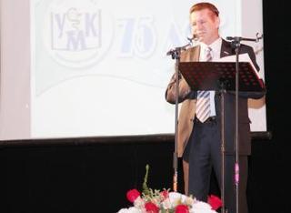 В городском театре прошло мероприятие в честь 75-летнего юбилея медицинского колледжа