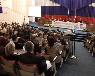 Председатель местной Думы избран делегатом на 10-й съезд