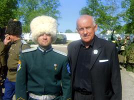 Уссурийскому художнику вручили юбилейную медаль «В службе честь»