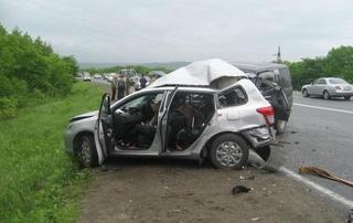 Жители Хабаровска и Сахалина погибли в аварии под Уссурийском