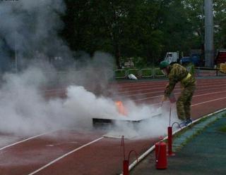Подрастающие пожарные из Уссурийска на Чемпионате Приморья стали лучшими