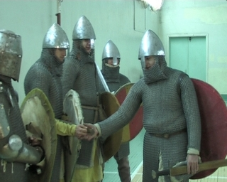 Чтобы быть рыцарем, нужно тренироваться