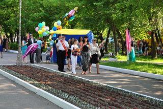 Впервые в Уссурийском городском округе прошёл Единый День выпускника