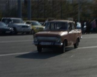 В Уссурийске возобновили соревнования по фигурному вождению