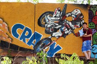 В городском парке прошел граффити-конкурс «Энергия красок»