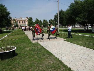 В Уссурийске состоялось торжественное мероприятие, посвященное 74-й годовщине военных событий у озера Хасан