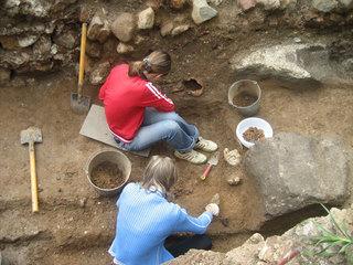 Археологи из клуба
