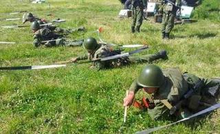 «Новорожденная» военная полиция тренируется в Приморье