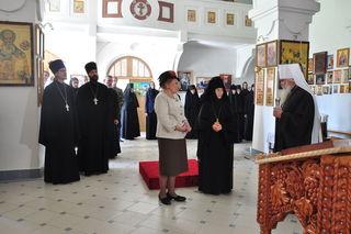 УГО посетила княгиня Ольга Николаевна Куликовская-Романова, председатель благотворительного фонда