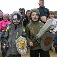 Рыцарский турнир прошёл в «Изумрудной долине»